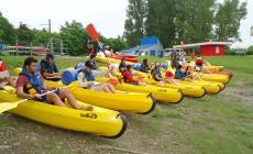 Depart-kayak