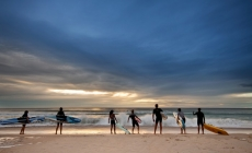Reading the waves before riding – Outdoor Education